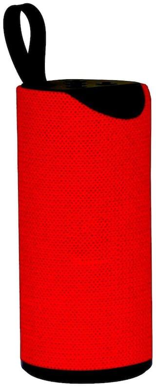 Bazaartrick TG113_1 Bluetooth Portable speaker ( Red )