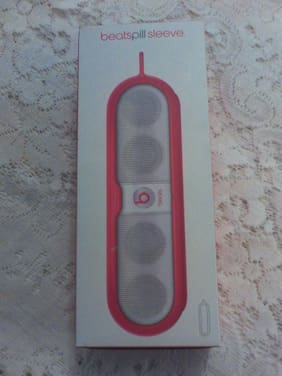 Beats Sleeve for Pill Portable Speaker Red FREE SHIPPING New In box