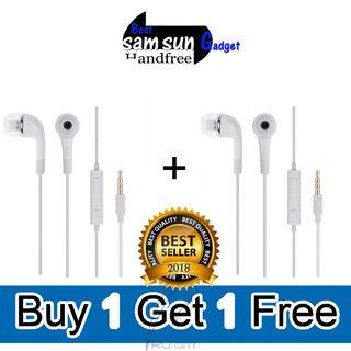 BESTsam sun GADGET In-Ear Headphones with Mic Pack of 2