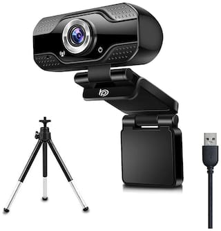 BigPassport 1080P 2 0MP Full HD Webcam with Tripod & Inbuilt Microphone for Video Streaming, Conference, Gaming, Online Classes Pro-Live_N1
