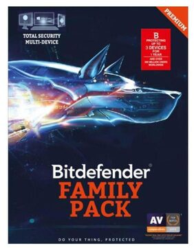 Bit Defender Total Security Latest Version ( 3 PC / 1 Year ) - CD