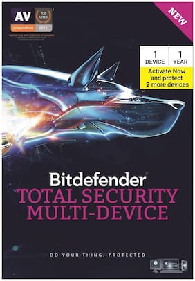 Bitdefender Total Security Multi-Device 1 PC 1 Year