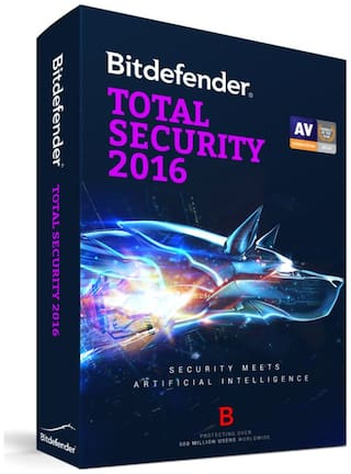 Bitdefender Total Security 2016 ( 1 / 1 ) CD