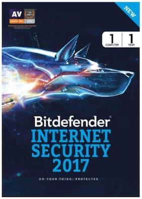 Bitdefender Internet Security Latest Version ( 1 PC / 1 Year ) - CD
