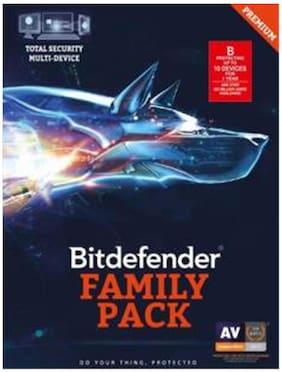 Bitdefender-Family Pack Total Security Multi-Device ( Single Key) 5Pc