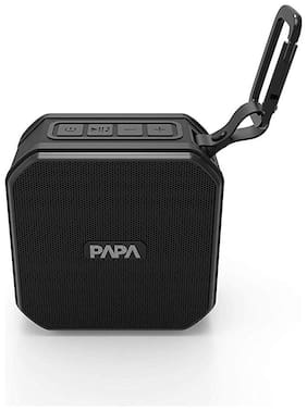 PAPA PROTECT SCUBA WATERPROOF MINI Portable Bluetooth Speaker ( Black )