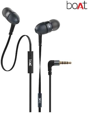 boAt Bassheads 225 In-ear Wired Headphone ( Black )