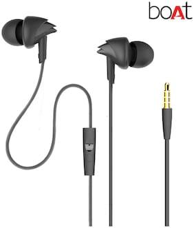 boAt In-Ear Wired Headphone ( Black )