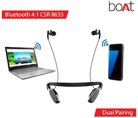 boAt Rockerz 385v2 In-Ear Bluetooth Headset ( Black )