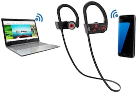 boAt Boat rockerz 261 In-ear Bluetooth Headsets ( Red )