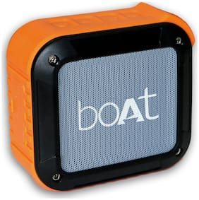 boAt BOAT STONE 210 Portable Bluetooth Speaker ( Orange )