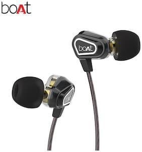 boAt Nirvanaa Duo Black In-ear Wired Headphone ( Black )