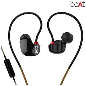 boAt Nirvanaa Uno Black In-ear Wired Headphone ( Black )