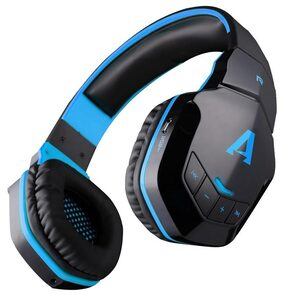 Boat Rockerz 510 Blue Over-ear Bluetooth Headsets ( Blue )