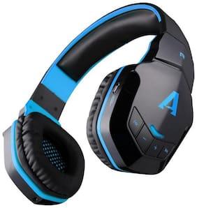 boAt Rockerz 510 blue Over-ear Bluetooth Headsets ( Blue )