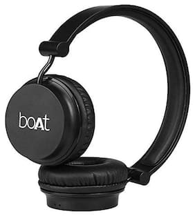 boAt On-Ear Bluetooth Headset ( Carbon Black )