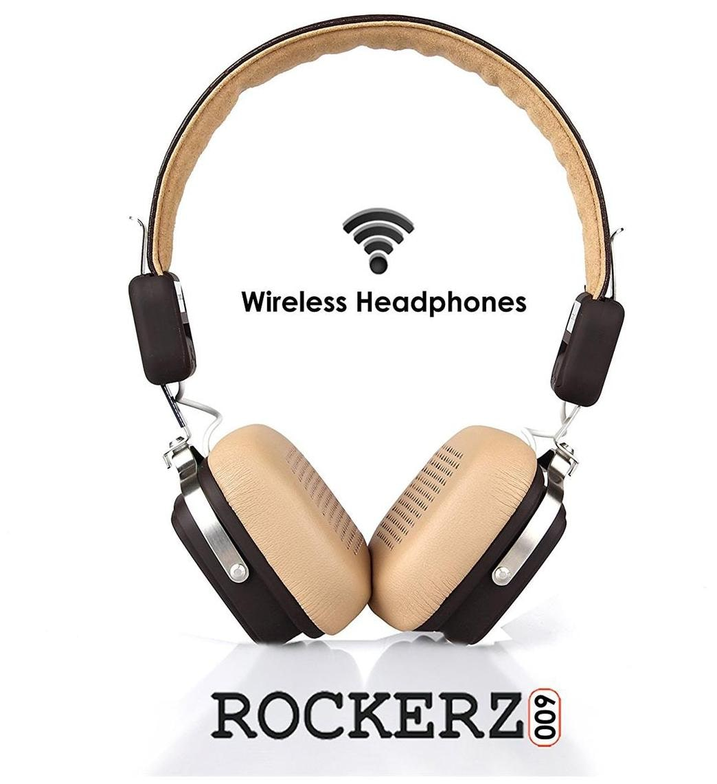 boAt Rockerz 600 HD Sound On-Ear Bluetooth Headphones with Mic (Brown)