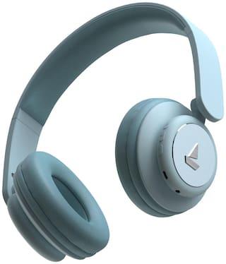 boAt Rockerz 450 On-Ear Bluetooth Headset ( Blue )