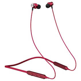 boAt Rockerz 240 Wireless Headset with Fast Charging;Bluetooth V5.0;IPX5 Sweat and Water Resistance & Up to 6H Playback (Red)