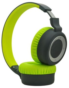 boAt Rockerz 430 Super Extra Bass On-Ear Bluetooth Headphones with Mic (Space Grey/Lime)