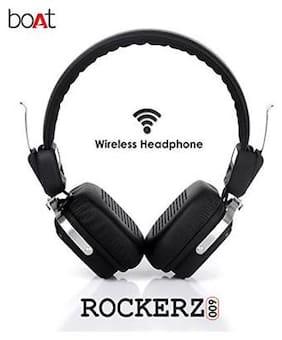 boAt 600 HD On-ear Bluetooth Headsets ( Black )
