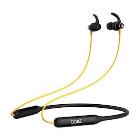 boAt Rockerz 335 In-Ear Bluetooth Headset ( Yellow )