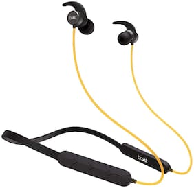boAt Rockerz 255 Pro Bluetooth Headsets In-Ear ( Yellow;Black)