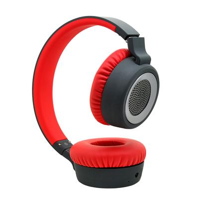 Boat Rockerz 430 Headphones (Black/Red)