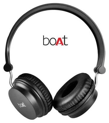 boAt Rockerz 400 On-The-Ear Wireless Bluetooth Headphones (Carbon Black On The Ear)