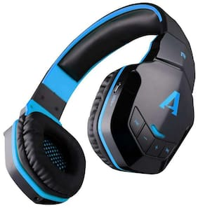 boAt Rockerz 510 Blue Over-Ear Bluetooth Headset ( Blue & Black )