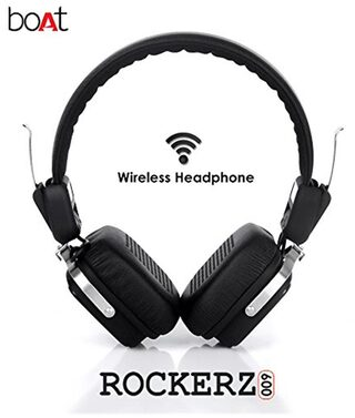 boAt Rockerz On-ear Bluetooth Headsets ( Black )