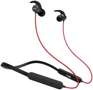 boAt Rockerz 258 Pro In-Ear Bluetooth Headset ( Red )