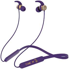 boAt Rockerz 255 Kolkata Knight Riders Edition In-Ear Bluetooth Headset ( Purple )