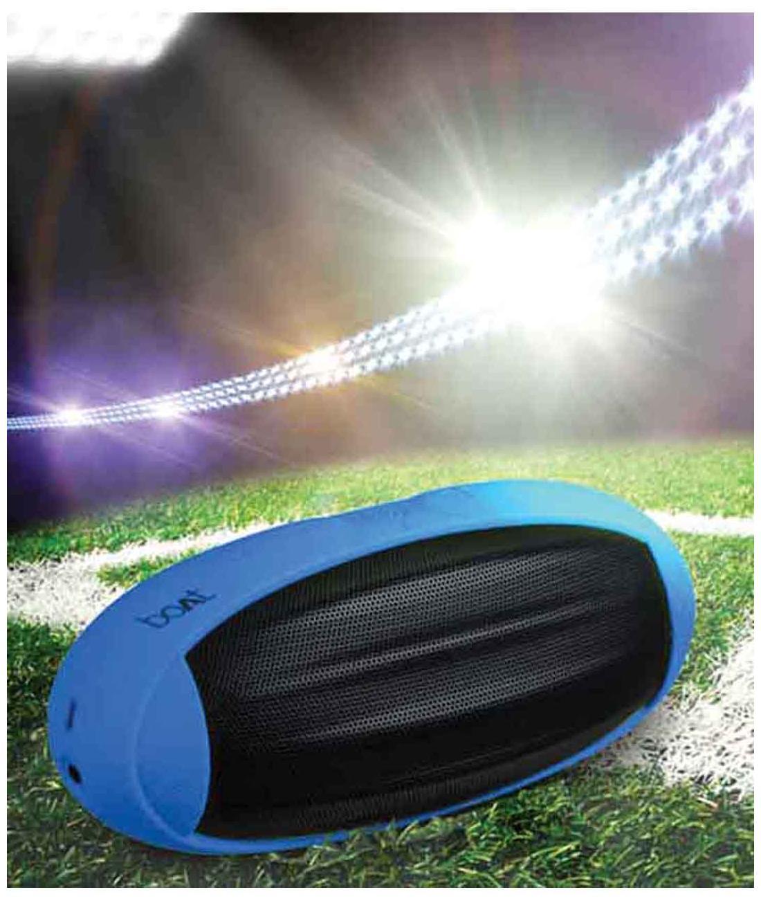 Boat Rugby Bluetooth Speaker (Black & Blue)