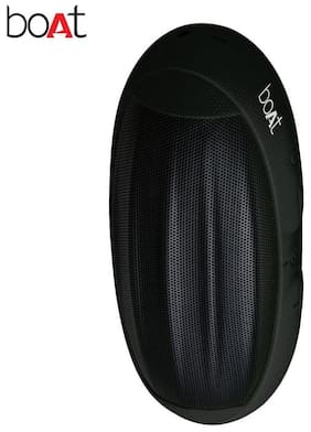 boAt Rugby-BLK Wireless Portable Stereo Speaker (Black)