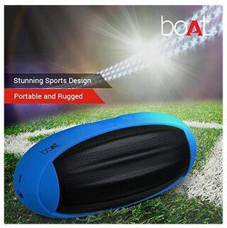 boAt Rugby Bluetooth Speaker ( Black & Blue )