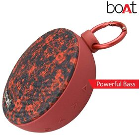 boAt Stone 260 Bluetooth Speaker ( Red & Black )