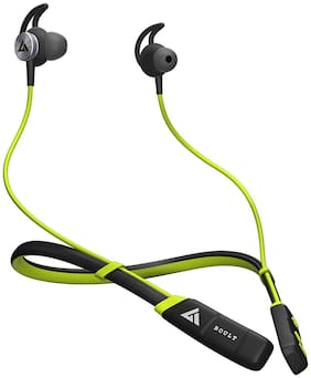 Boult Audio ProBassCurvePro In-Ear Bluetooth Headset ( Green )