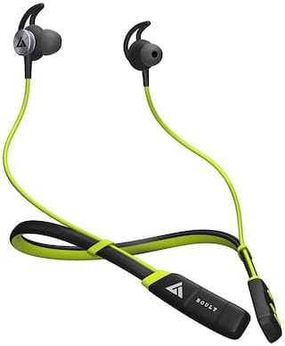 Boult Audio ProBass CurvePro In-Ear Bluetooth Headset ( Green )