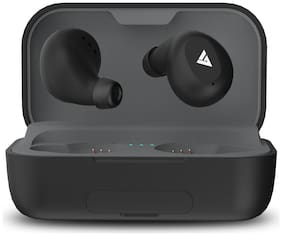 Boult Audio AirBassPowerBuds True Wireless Bluetooth Headset ( Black )