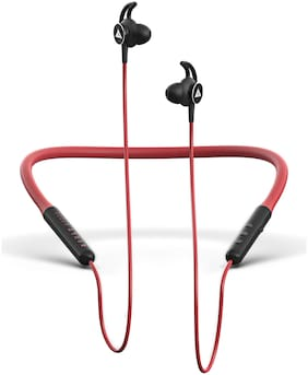 Boult Audio ProBass Escape In-Ear Bluetooth Headset ( Red )