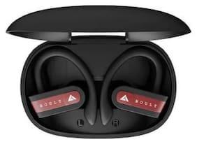 Boult Audio AirBass Musebuds True Wireless Bluetooth Headset ( Red )