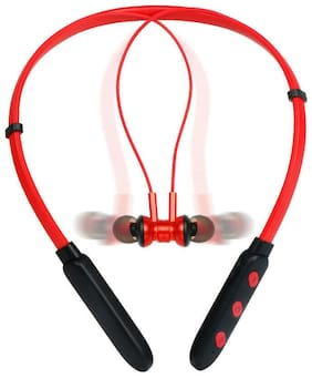 BTK Trade In-Ear Bluetooth Headset ( Red )