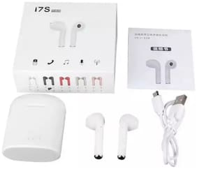BTK Trade i7s-TWS In-Ear Bluetooth Headset ( White )