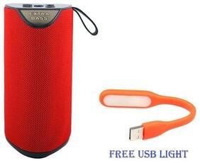 BTK Trade GT111 Bluetooth Portable speaker ( Red )