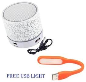 BTK Trade S10 Bluetooth Portable speaker ( White )