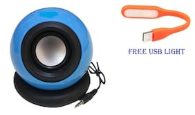 BTK Trade TYRE TB-0136 Wired Portable Speaker ( Blue )