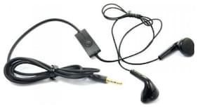 Buddies cart Samsung,Apple,MI ,Vivo,Oppo YS BLKEARPHONE  In Ear Earphone (Black)