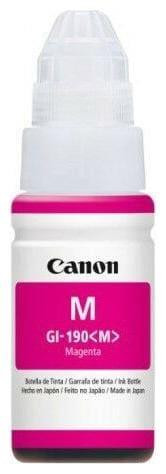 Canon GI-190M Magenta Original Ink Print Cartridge - 0669C001AB