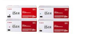 Canon Toner Cartridge 054 Black, Cyan, Magenta, Yellow, High Capacity for MF643CDW, MF641Cdw, MF642Cdw, MF644Cdw Laser Printers